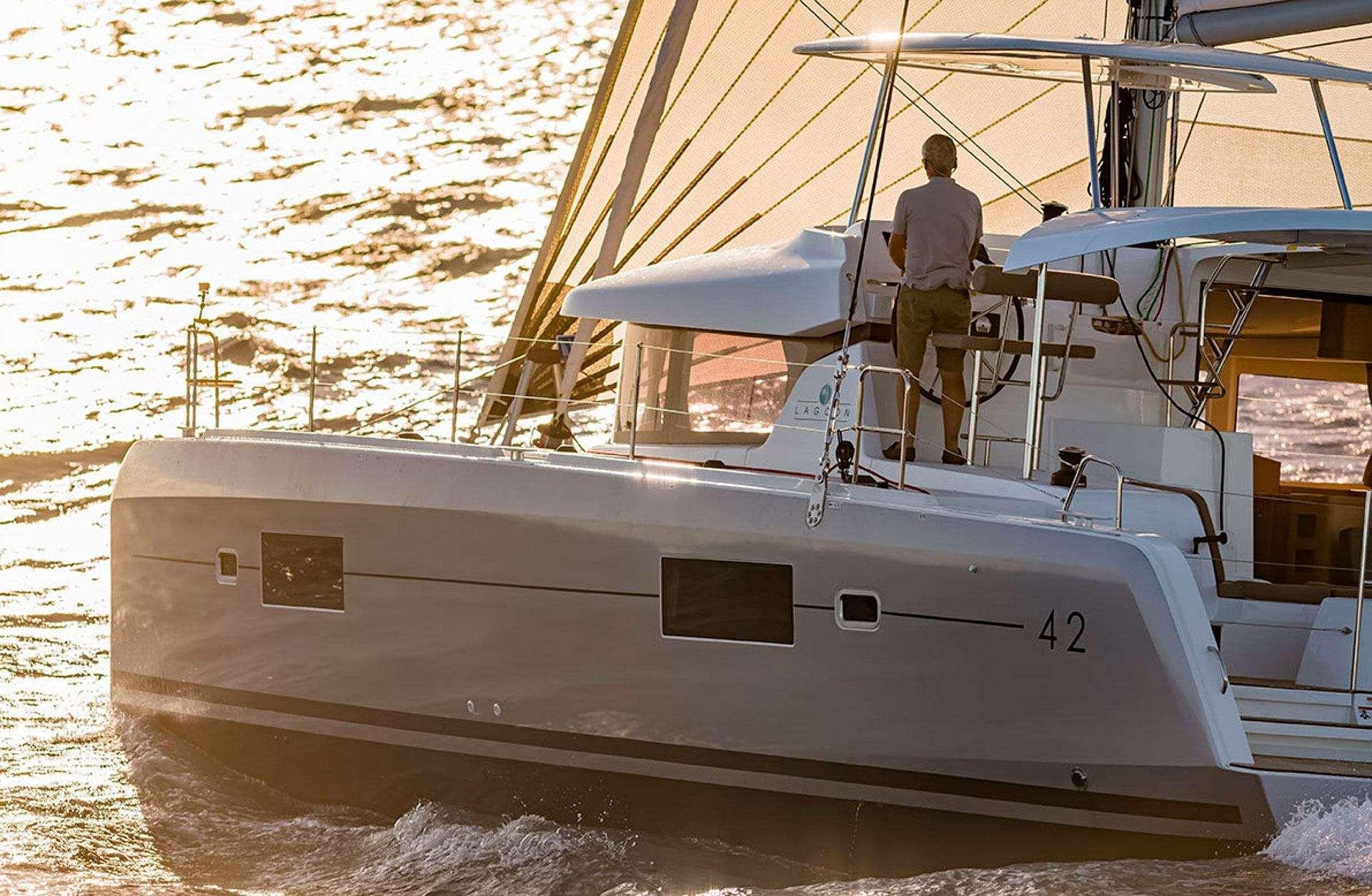 Lagoon 42 charter ibiza