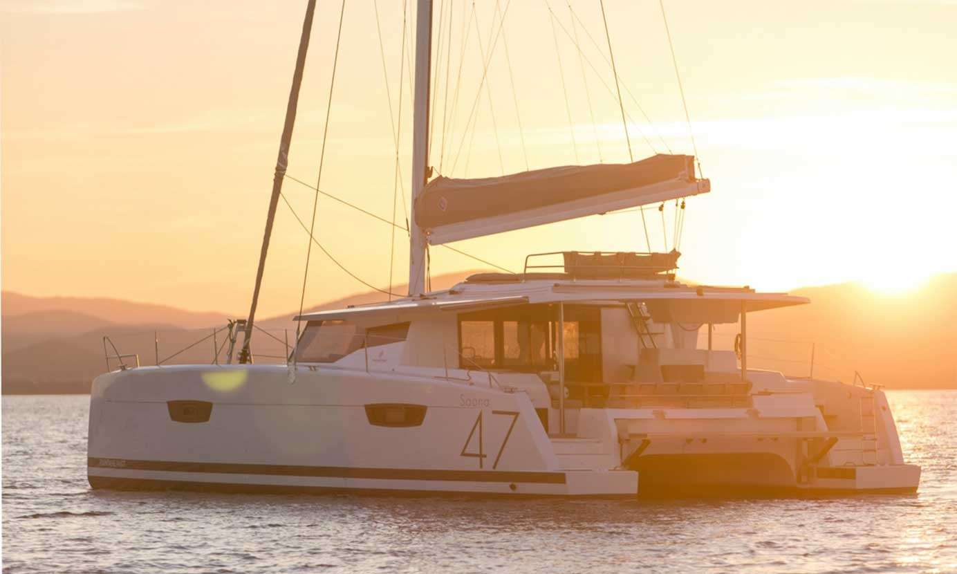 catamarans fountain 47 rental
